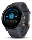 Garmin vívoActive3 Music, Granite Blue band
